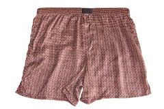 Silk shorts Royalty Free Stock Image