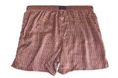 Silk shorts Royalty Free Stock Image