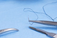 Silk Suture Stock Photos