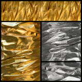 Silk textile background stock image