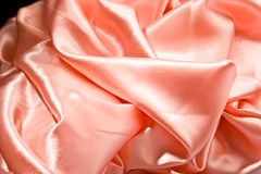 Silk, textile background Royalty Free Stock Photography