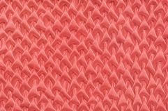 Silk texture in the trendy Living coral colour of the Year 2019 royalty free stock images