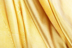 Silk textured for background, gold brown color Royalty Free Stock Image