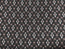 Silk. Thai silk in black and red Royalty Free Stock Image