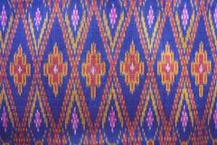 Silk. Thai silk fabric textured background Royalty Free Stock Photography