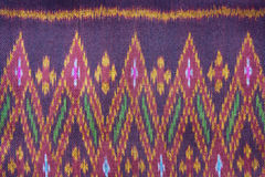Silk. Thai silk fabric textured background Royalty Free Stock Images