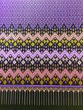 Silk. Thai silk in shop Royalty Free Stock Photo