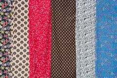 Silk in Thamel Stock Photo