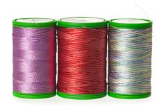 Silk threads Royalty Free Stock Images