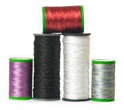 Silk threads Royalty Free Stock Photo