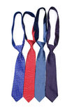 Silk tie isolated Stock Photography