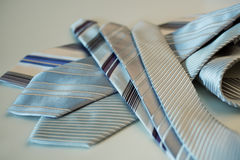 Silk ties Royalty Free Stock Photography
