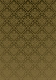 Silk wallpaper victorian-gold Royalty Free Stock Photography
