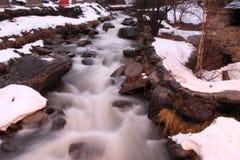 Silk waterfall stock photography