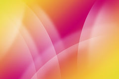 Silk wave and circle background Stock Photo