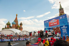 Silk Way Rally start Royalty Free Stock Photo