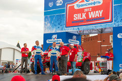 Silk Way Rally start Royalty Free Stock Photography