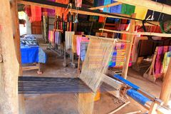 Silk Weaving Village Royalty Free Stock Photo
