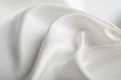 silk white för abstrakt bakgrund Royaltyfria Foton