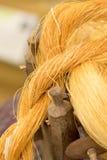 Silk wool. Royalty Free Stock Photos