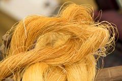 Silk wool. Stock Photos