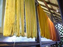 Silk yarn Stock Images