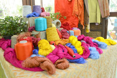 Silk yarn Royalty Free Stock Photo