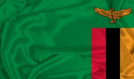 Free Silk Zambia Flag Stock Images - 167004884
