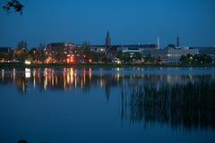 Silkeborg, Danimarca Fotografia Stock
