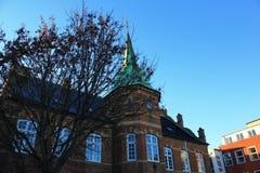 Silkeborg torv, Denmark Royalty Free Stock Photo
