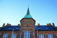 Silkeborg torv Royalty Free Stock Images