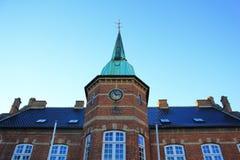 Silkeborg torv Royalty Free Stock Images