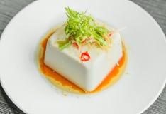 Silken tofu with gochujang Royalty Free Stock Photo