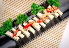 Silken tofu with gochujang and sesame oil Stock Image