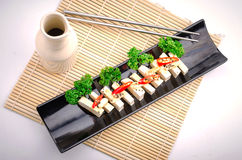 Silken tofu with gochujang and sesame oil Royalty Free Stock Image