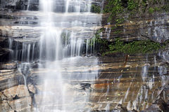 Silken waterfall Royalty Free Stock Photography