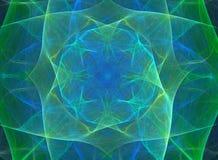 silkeslen abstrakt design Royaltyfri Foto