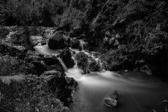 Silkeslen flod royaltyfri foto