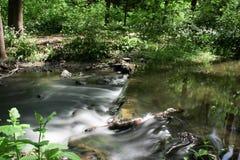 Silkeslen flod Fotografering för Bildbyråer