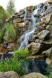 Silkeslen vattenfall Royaltyfri Bild