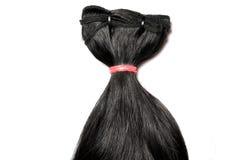Silkeslent rakt hår arkivbilder