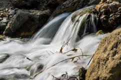 Silkeslent vatten Royaltyfria Foton