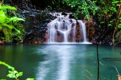 Silkeslent vatten Royaltyfri Foto