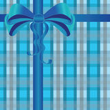 Silky bow design element Royalty Free Stock Image