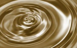 Silky drop barckground. Waves of liquid drop Stock Photography