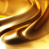 Silky elegant gold Royalty Free Stock Image