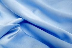 Silky fabric Stock Image