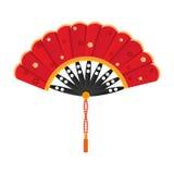 Silky fan Royalty Free Stock Photo
