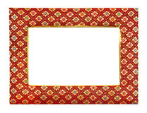 Silky frame Royalty Free Stock Image