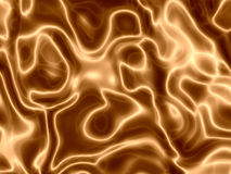 Silky Golden Waves Stock Images